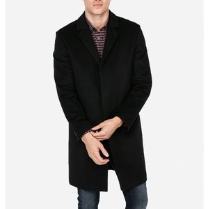Express Wool Blend Top Coat